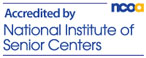 Accredited by National Institute of Senior Centers